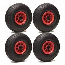 lot de 4 roue gonflable 260 x 85 axe 25 mm 3 00 4 avec