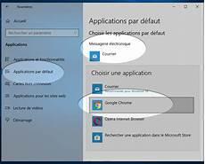 Messagerie Par Defaut Dans Windows 10