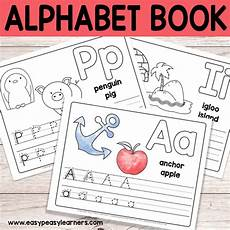 practice the letters from a to z with this free printable alphabet book sit down with you child