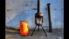 gasflasche ofen bauen terrassenofen mit steckbarem abzugsrohr selber bauen