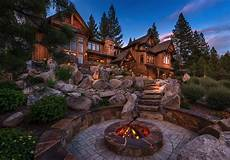 a grand lakeside home with rustic exquisitely designed rustic lakeside home in the nevada