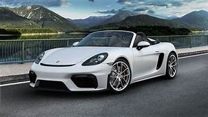 2020 Porsche 718 Boxster Spyder Pictures Photos