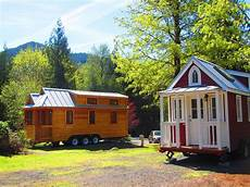 try out tiny house living in oregon s new home resort in mt hood