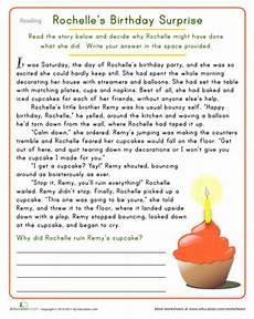 rochelle s birthday surprise reading comprehension