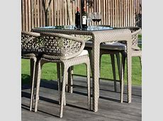 Skyline Design Journey Rattan Outdoor Bar stools and Table