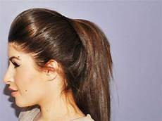 volumized ponytail hair tutorial youtube