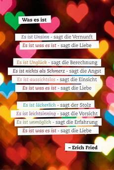 Erich Fried Was Es Ist Motivation Zitate Poster