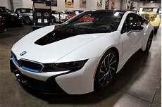 electrified 2014 bmw i8 hybrid sports car in new