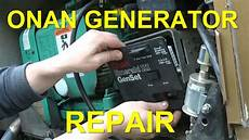 Onan Generator Repair Replacing Board Voltage
