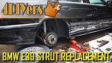 diy bmw e39 rear strut removal and replacement bmw e39