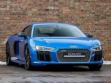 Audi R8 Gebraucht - 2017 used audi r8 v10 plus quattro ara blue effect