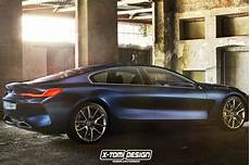 Rendering 2019 Bmw 8 Series Gran Coupe Is A Stylish