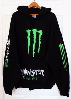 new energy black green sweater hoodie pullover