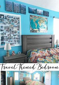 travel themed bedroom for seasoned travel themed bedroom a with printage inc sew savory