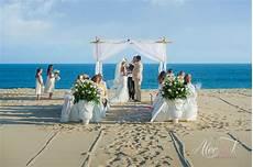 small beach wedding