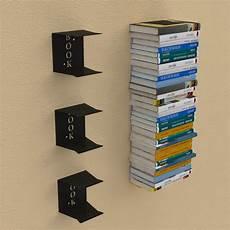 mensole libri mensola porta libri invisibile in pila in 3 diverse