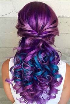 Purple And Blue Hair Hair Styles Are All The Rage And We