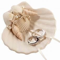 seashell wedding aisle wedding ring holder в 2019 г подушечки для колец на свадьбу