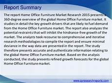 Office Furniture Industry Analysis by Global Home Office Furniture Market 2015 Industry Analysis