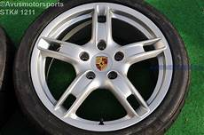 18 quot porsche boxster s 987 oem staggered wheels and tires
