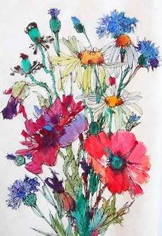 660 Best Flowers Images In 2019 Watercolor Paintings