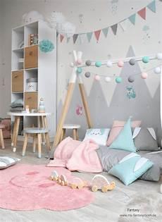waldtiere in rosa mint grau bei fantasyroom