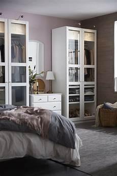 Ikea Schlafzimmer Schrank - pax kleiderschrank wei 223 tyssedal glas stauraum in