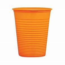 bicchieri plastica bicchieri di plastica arancione 200 ml play