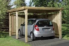 Holz Carport Bausatz Weka 171 Optima 187 Einzelcarport Ebay