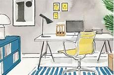 kleines büro einrichten arbeitszimmer einrichten sch 214 ner wohnen
