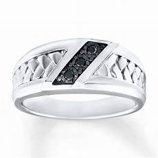 men s wedding ring 1 15 ct tw diamonds sterling silver