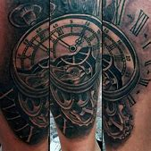80 Clock Tattoo...