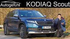 Skoda Kodiaq Scout Review Test 2018 2019 Autogef 252 Hl