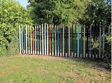 gartenzaun kreativ gestalten 7 besten zaun bilder auf gartenzaun verandas