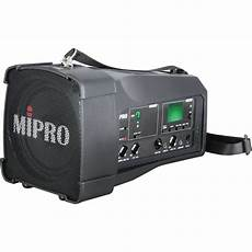 Maiha M008 Units Portable Wireless by Mipro Ma 100 Portable Rechargeable Wireless Pa System