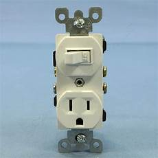 leviton scratched white light switch outlet receptacle new style 15a bulk 5225 w ebay