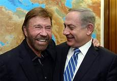 chuck norris aujourd hui chuck norris to netanyahu you will always my support