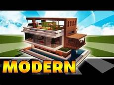 Minecraft How To Build A Modern House Best Mansion 2016