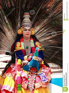 men with different costumes participates in atha chamayam at kochi editorial stock image image