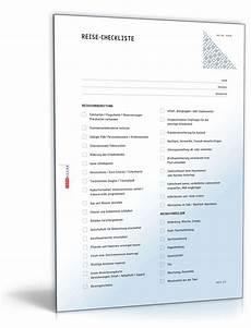 reisevorbereitung checkliste zum