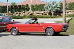1965 Convertible Used Automatic RWD Ford Mustang