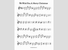 we wish you a merry christmas piano