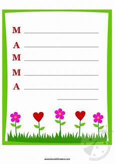 lettere per mamma carta da lettere per la festa della mamma lavoretti creativi