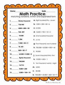 reading and writing numbers worksheets grade 4 21093 free reading and writing numbers in expanded form standard form and written form 8 activities