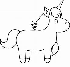 Malvorlagen Unicorn Yellow Unicorn Simple Unicorn To Color Coloring Pages