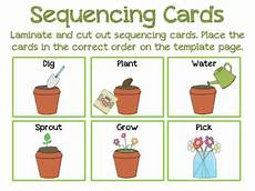 plants sequencing worksheets 13629 the speech path place garden