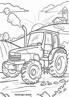 Kinder Malvorlagen Traktor Traktor Bild Ausmalen Kinder Ausmalbilder