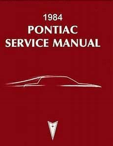 free service manuals online 1984 pontiac grand prix parental controls 1984 pontiac bonneville grand prix shop service repair manual book oem guide ebay