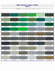 ral classic color chart free