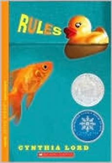 a blog to review children s literature rules by cynthia lord